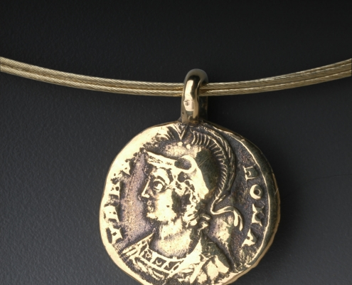Coin Collection Pendant